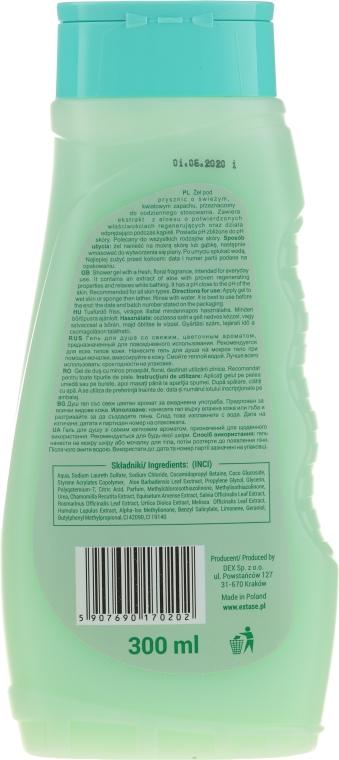Odprężający żel do mycia ciała z ekstraktem z aloesu - Extase Flowers Shower Gel — фото N2