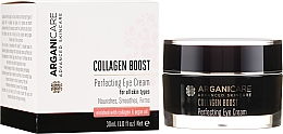 Kup Przeciwzmarszczkowy krem na okolice oczu - Arganicare Collagen Boost Perfecting Eye Cream