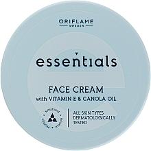 Kup Nawilżający krem do twarzy z witaminą E i olejem canola - Oriflame Essentials Face Cream With Vitamine E And Canola Oil