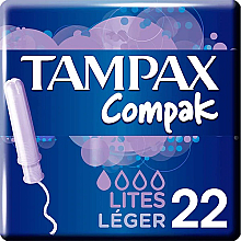 Kup Tampony z aplikatorem, 22 szt. - Tampax Compak Light