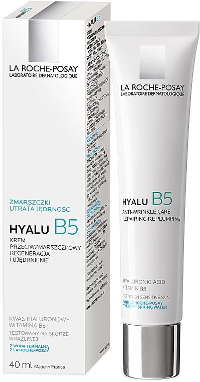 Przeciwzmarszczkowy krem do twarzy z kwasem hialuronowym - La Roche-Posay Hyalu B5