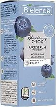 Kup Nawilżająco-rozświetlające serum do twarzy - Bielenda Blueberry C-Tox Face Yogurt Serum