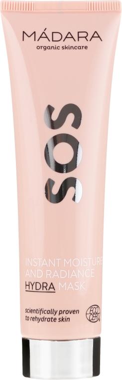 Ekspresowo nawilżająca maska rozświetlająca - Madara Cosmetics SOS Instant Moisture+Radiance Hydra Mask — фото N5