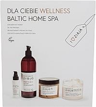 Kup Zestaw  - Ziaja Baltic Home Spa Wellness Set (cr/50ml + sh/gel/500ml + scr/300ml + cr/300ml)