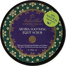 Kup Aromatyczny kojący peeling do stóp z olejem z otrębów ryżowych i aloesem - Sabai Thai Rice Milk Aroma Soothing Foot Scrub