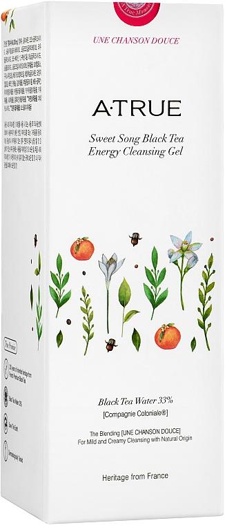 Żel do mycia twarzy - A-True Sweet Song Black Tea Energy Cleansing Gel — фото N3