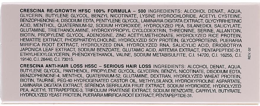 Ampułki na wzrost włosów dla kobiet - Crescina HFSC Re-Growth Anti-hair Loss 500 — фото N4