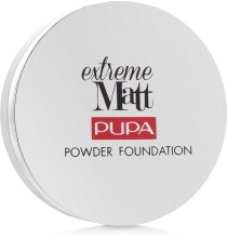 Matujący puder w kompakcie - Pupa Extreme Matt Powder Foundation — фото N2