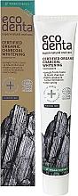 Kup Organiczna czarna wybielająca pasta do zębów - Ecodenta Certified Cosmos Organic Black Whitening Toothpaste