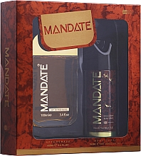 Kup Eden Classic Mandate - Zestaw (aftershave/100 ml + b/spray 150 ml)