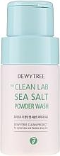 Kup Puder do oczyszczania twarzy z solą morską - Dewytree The Clean Lab Sea Salt Powder Wash