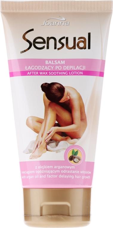 Balsam łagodzący po depilacji z olejem arganowym - Joanna Sensual