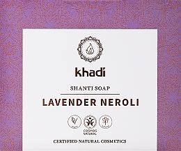 Kup Naturalne mydło z olejkiem lawendowym i neroli - Khadi Lavender Neroli Shanti Soap