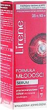 Kup Przeciwzmarszczkowe serum intensywnie nawilżające do twarzy i okolic oczu - Lirene Formuła młodości 35+/45+