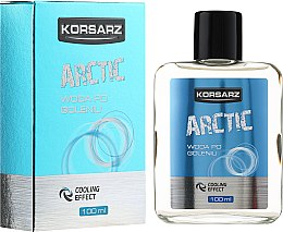 Woda po goleniu Arctic - Pharma CF Korsarz After Shave Lotion — фото N1