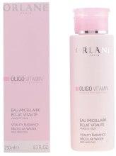 Kup Płyn micelarny Hipoalergiczny - Orlane Oligo Vitamin Vitality Radiance Micellar Water