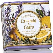Kup Naturalne mydło w kostce Cedr i lawenda - Saponificio Artigianale Fiorentino Capri Lavender & Cedar Soap