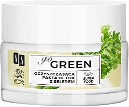 Kup Oczyszczająca pasta-detox z selerem - AA Go Green Organic