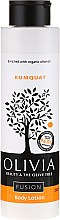 Kup Balsam do ciała Kumkwat - Olivia Beauty & The Olive Tree Fusion Body Lotion Kumquat