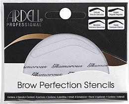 Kup Zestaw szablonów do brwi - Ardell Brow Perfection Stencils