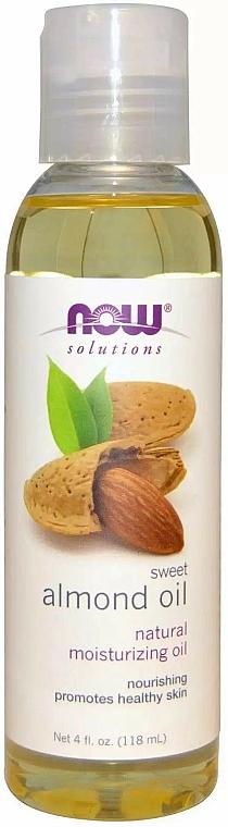 Nawilżający olej ze słodkich migdałów - Now Foods Solutions Sweet Almond Oil — фото N1