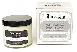 Kup Naturalna świeca sojowa Cynamon - Eco Life Candles
