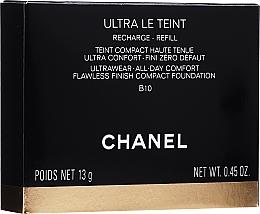Kup Podkład w kompakcie do twarzy (wymienny wkład) - Chanel Ultra Le Teint Ultrawear All-Day Comfort Flawless Finish Compact Foundation