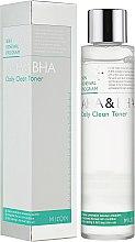 Kup Oczyszczający tonik z kwasami - Mizon AHA & BHA Daily Clean Toner