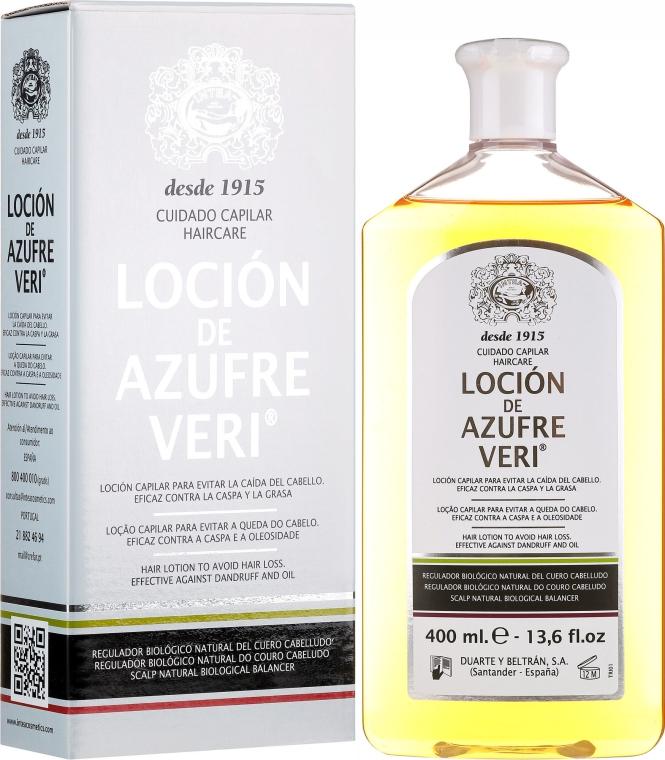 Lotion przeciw wypadaniu włosów - Intea Azufre Veri Hair Lotion To Avoid Hair Loss