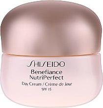 Krem na dzień - Shiseido Benefiance NutriPerfect Day Cream SPF 15 — фото N2
