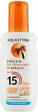 Kup Wodoodporna emulsja do opalania w sprayu SPF 15 - Kolastyna Suncare Emulsion SPF 15