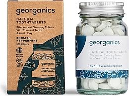 Kup Naturalne tabletki do mycia zębów Mięta angielska - Georganics Natural Toothtablets English Peppermint