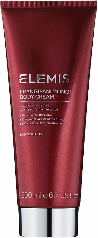 Krem do ciała - Elemis Frangipani Monoi Body Cream — фото N1