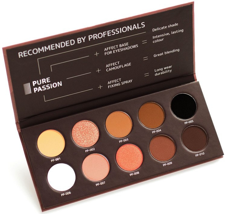 Paleta cieni do powiek - Affect Cosmetics Pure Passion Eyeshadow Palette