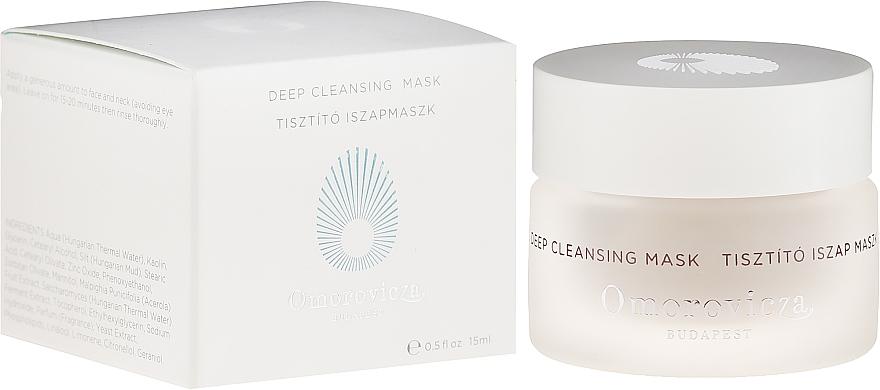 PRZECENA! Oczyszczająca maska do twarzy - Omorovicza Deep Cleansing Mask (miniprodukt) * — фото N1