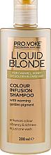 Kup Złoty szampon dla blondynek - Pro:Voke Liquid Blonde Colour Infusion Shampoo