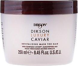 Kup Rewitalizująca maska do włosów - Dikson Luxury Caviar Revitalizing Mask For Hair