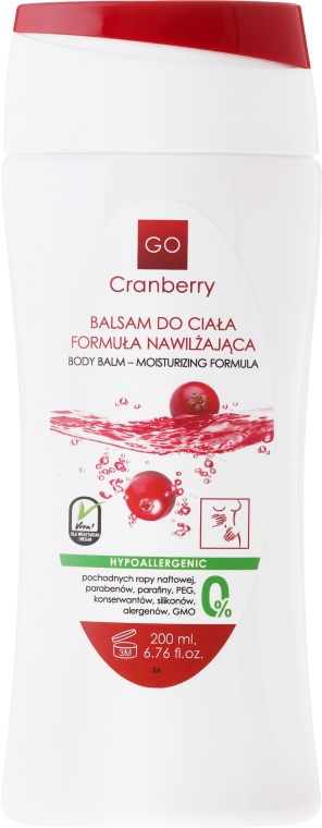Nawilżający balsam do ciała - GoCranberry  — фото N1