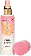 Kup Matująca mgiełka do twarzy - Too Faced Peach Mist Setting Spray
