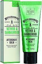 Kup Balsam po goleniu Wetyweria i drzewo sandałowe - Scottish Fine Soaps Vetiver Sandalwood Aftershave Balm
