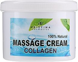 Kup Krem do masażu twarzy i ciała - Hristina Cosmetics Collagen Massage Cream