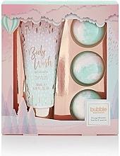 Kup Zestaw - Style & Grace Bubble Boutique Bath Bombed Gift Set (b/wash/200ml + 3xb/fizzer/80g)