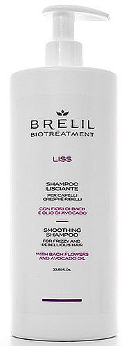 PRZECENA! Wygładzający szampon do włosów puszących się i nieposłusznych - Brelil Bio Treatment Liss Smoothing Shampoo For Frizzy And Rebellious Hair * — фото N2
