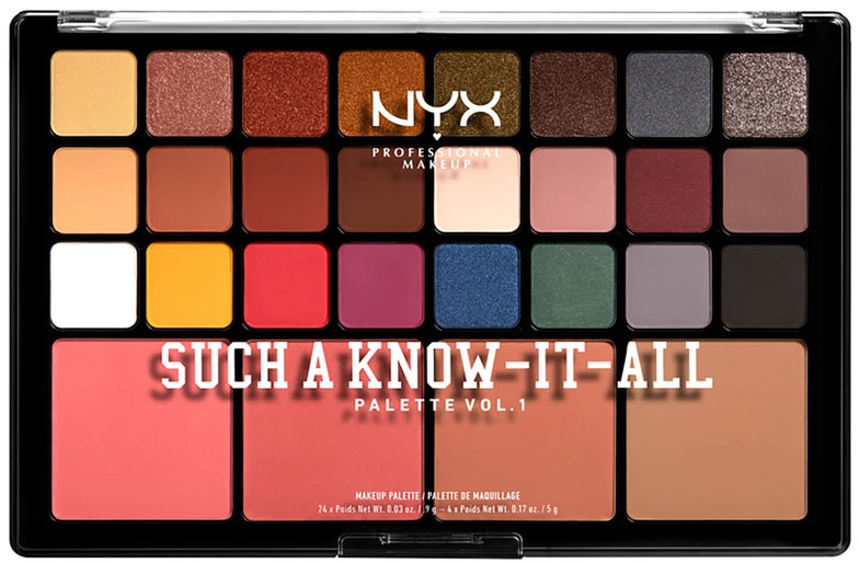 Paleta do makijażu - NYX Professional Makeup Such A Know-It-All — фото N1