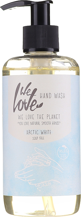 Mydło w płynie do rąk - We Love The Planet Arctic White Hand Wash  — фото N1