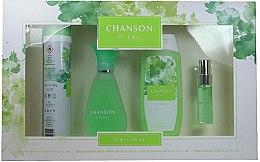 Kup Coty Chanson d'Eau - Zestaw (edt 100 ml + sh/gel 200 ml + deo 200 ml + edt 15 ml)