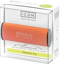 Kup Zapach do samochodu Sad mandarynkowy - Millefiori Milano Icon Car Air Freshener Orange Tea