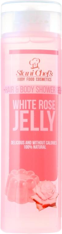 Naturalny żel pod prysznic do ciała i włosów Galaretka z białej róży - Stani Chef's Hair And Body Hair & Body Shower Gel White Rose Jelly — фото N1