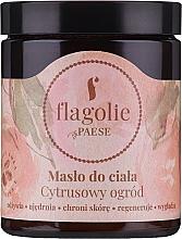 Kup Odżywcze masło do ciała Cytrusowy ogród - Flagolie by Paese