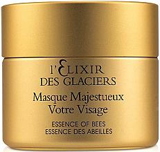Kup PRZECENA! Intensywnie odżywcza maska do twarzy Eliksir z lodowca alpejskiego - Valmont L'Elixir Des Glaciers Masque Majestueux Votre Visage *